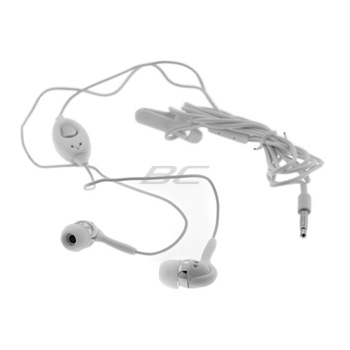 3.5mm Stereo Headset with Microphone - White