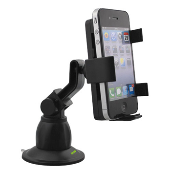 iKross Car Windshield Mount Holder for Apple iPhone & Smartphone (IKHD11)