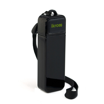 iKross Portable Folding Stand for iPhone, iPod, Cellphone, Smartphone - Black