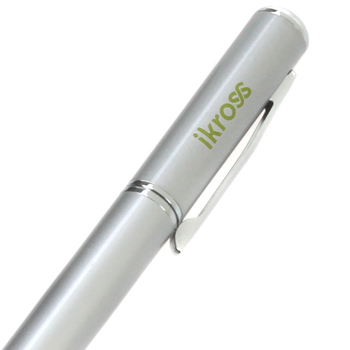 iKross Stylus with Pen - Silver