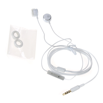 SpicyBomb BS-80i 4D HD Sound Out-Ear Canal Earphone with Mic - White