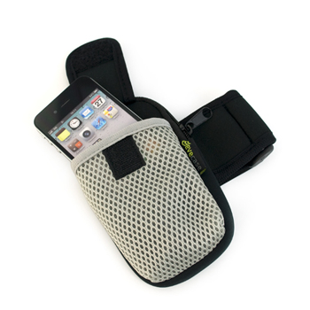 EveCase Sports Armband Pouch Case for Smartphones & MP3 Players (EVARM10)