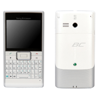 Sony Ericsson Aspen GreenHeart Unlocked Phone for Business - White