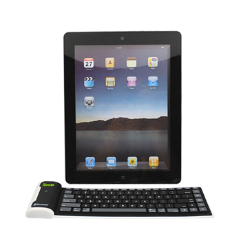 iKross Bluetooth Wireless Foldable Silicone Keyboard