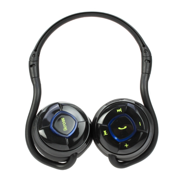 iKross Bluetooth Handsfree Stereo Headset with Case (IKBT18)