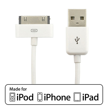 EZOPower Apple Licensed USB Sync & Charge Dock Connector Cable for Apple iPod, iPhone, iPad (EZMFI11)