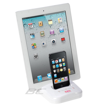 EZOPower Dual Dock Cradle Desktop Charger for Apple iPhone 4S/4 (EZMFI13)