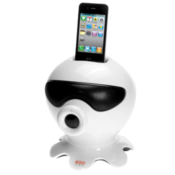 EZOPower Octopus Stereo Speaker Charging Dock with Subwoofer for Apple iPod iPhone (EZMFI19)