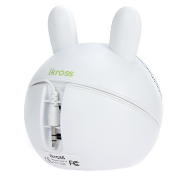 iKross Rabbit Portable Mini Stereo Speaker Sound System (IKSP12)
