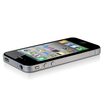 Odoyo Ultra Slim Case for Apple iPhone 4/4S - White (PH311WH)