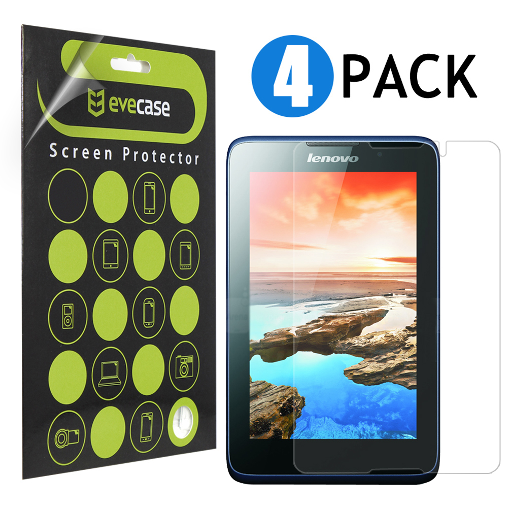EveCase 4-Pack Premium HD Variety Screen Protectors ( Clear / Matte Anti Glare ) for Lenovo Tablet A7-50 7? at Sears.com