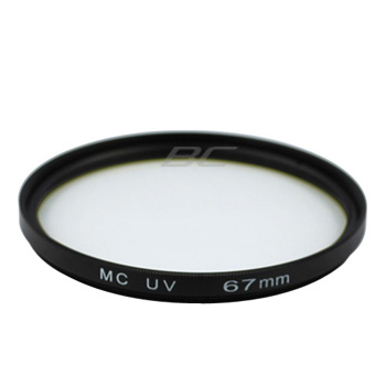 Camera Multi Coat Ultra Violet UV Protection Glass Filter - 67mm