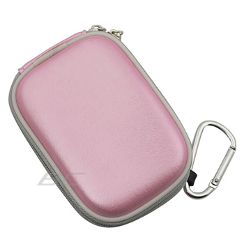 Digital Camera Zipper Pouch Case - Pink