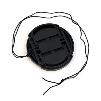 55mm Snap-On Lens Cap with String Leash