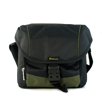 Evecase Large SLR Camera Gadget Bag - Black