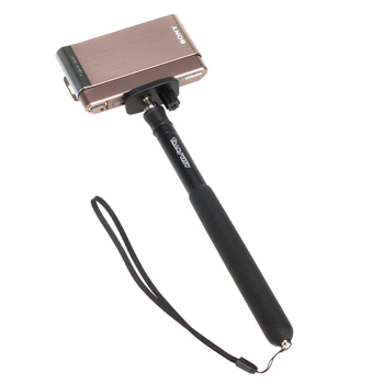 Extendable Hand Held Monopod Wand - Black