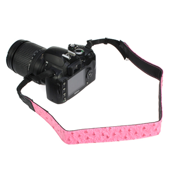 Pink Shoulder Strap for Digital Cameras, DSLR & Camcorders