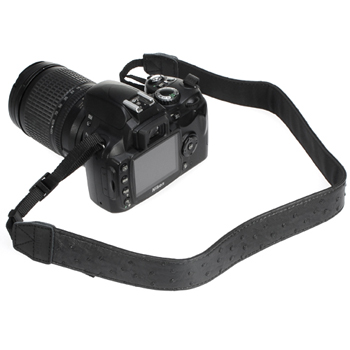 Black Shoulder Strap for Digital Cameras, DSLR &amp; Camcorders