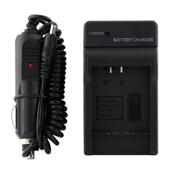 Canon NB-11L Replacement Battery Charger Kit with Car Adapter