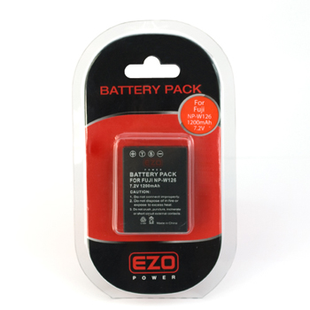 EZOPower Fuji NP-W126 Replacement Battery 1000mAh