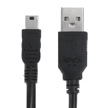 USB 2.0 Type A to 5-Pin Mini B Cable - 6 Feet