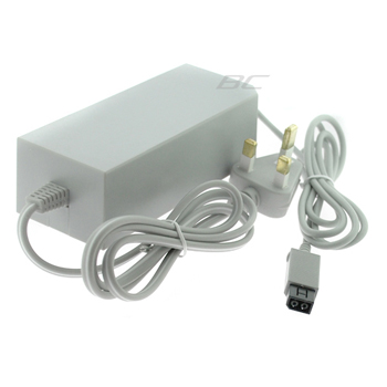 UK AC Adapter Power Supply Cord for Nintendo Wii