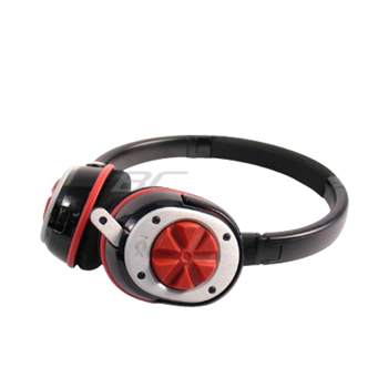 Nox Audio Specialist Headset with Mic - Red