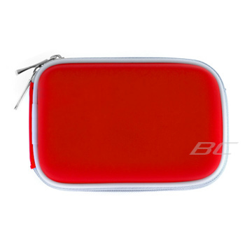 Digital Camera Zipper Pouch Case - Red